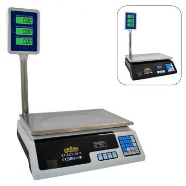 Весы счетные электронные с вертикальной стойкой ST-ACS-35-2  (35кг)